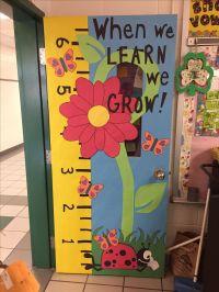 25+ best ideas about Kindergarten classroom door on ...