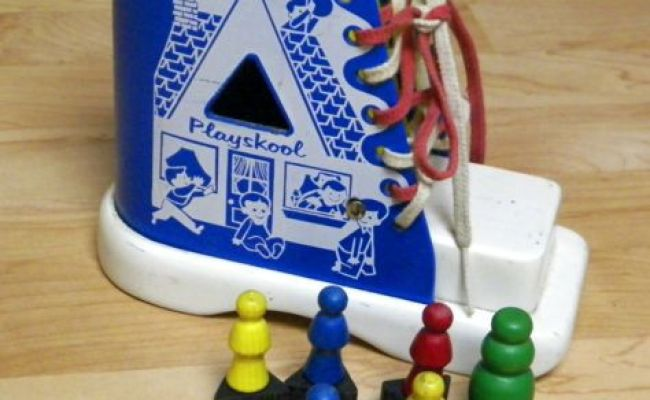 17 Best Images About Vintage Wooden Playskool Toys On