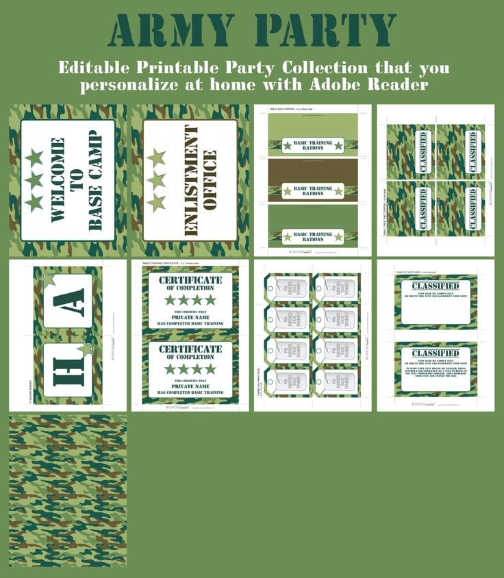 birthday invitations online free printables