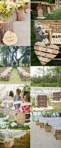 Best 25+ Outdoor wedding aisles ideas on Pinterest