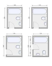 Best 20+ Small bathroom layout ideas on Pinterest | Tiny ...