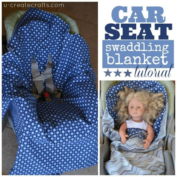 Babies Car Seat Covers Car Seat Swaddling Blanket Tutorial Sewing For Kids