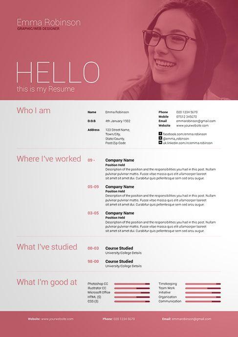 resume interest letter