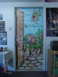 25+ best ideas about Door murals on Pinterest | Door ...