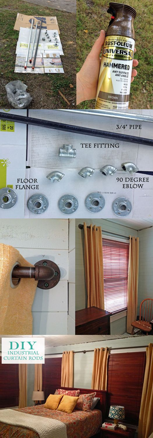 Diy outdoor curtain rods - Diy Outdoor Curtain Rod Diy Curtain Rods Plumbing Parts Edition Download