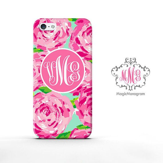 lilly pulitzer monogram iphone case