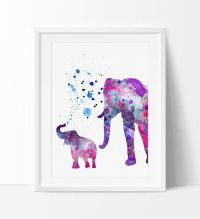 25+ best Elephant Watercolor trending ideas on Pinterest ...