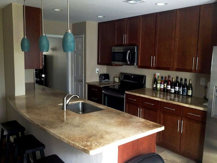 Photos Of Beautiful Seamless Epoxy Countertops Kitchen Remodel Pinterest Photos