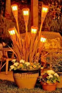 Backyard tiki torches | ideal outdoor space | Pinterest ...
