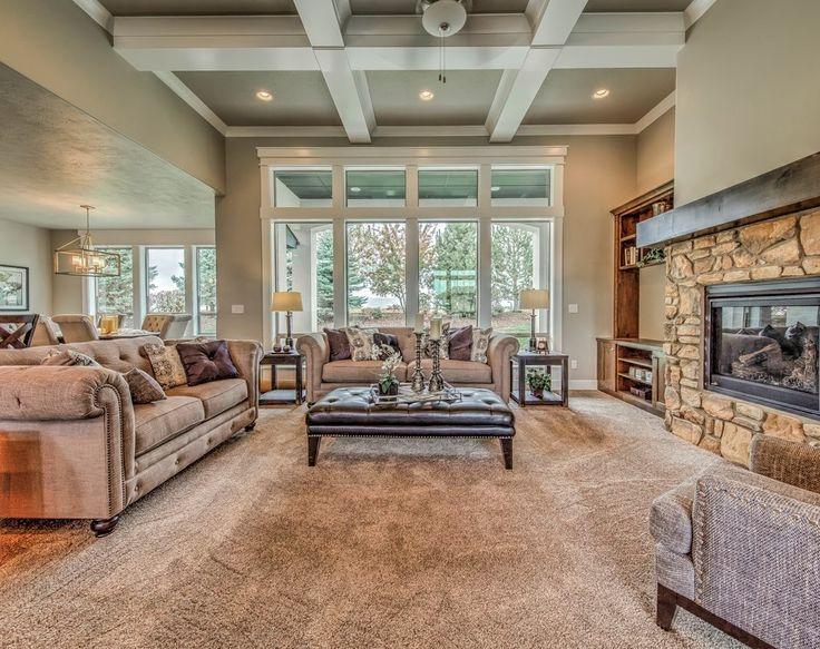 25+ best Craftsman Living Rooms ideas on Pinterest