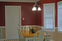 #kitchen #inspiration #renovation Two paint colors split ...
