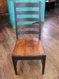 Manhattan side chair in two-tone, Solid hardwood chairs in ...