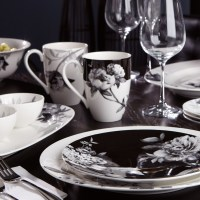 310 best images about Black & White Dishes on Pinterest ...