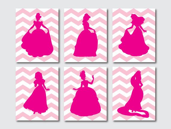 Princess Silhouettes