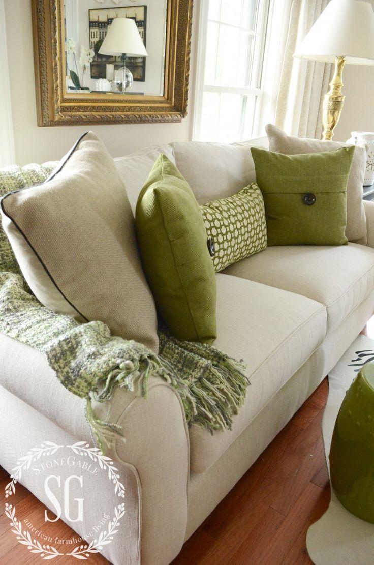 17 Best ideas about Green Throw Pillows on Pinterest