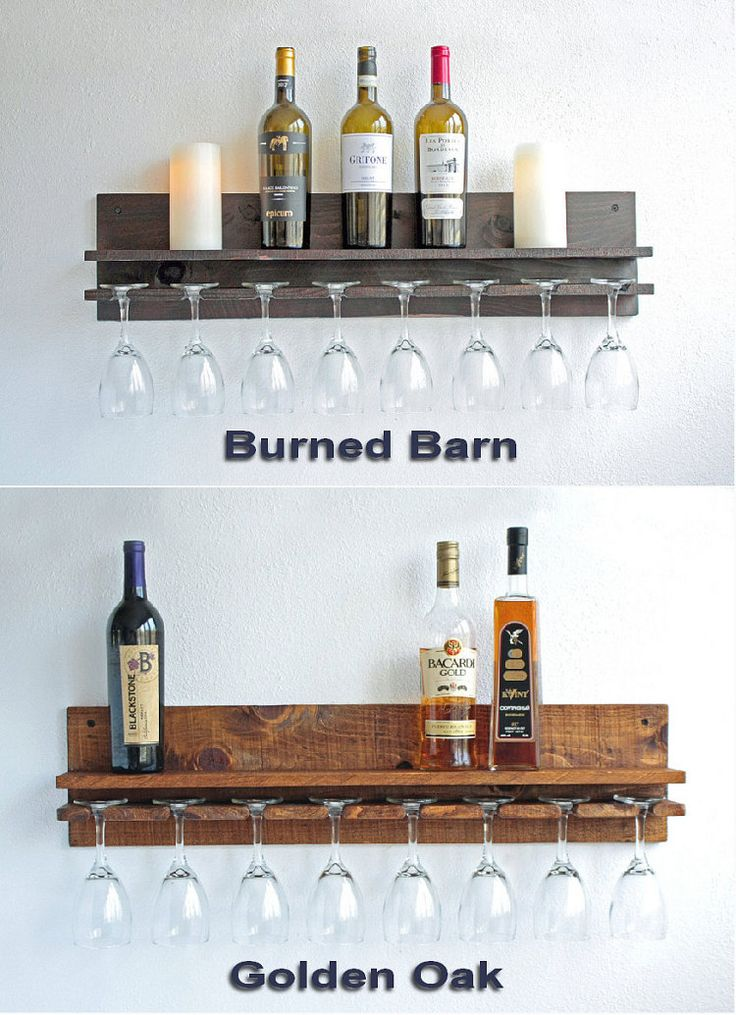 25+ best ideas about Wine glass rack on Pinterest