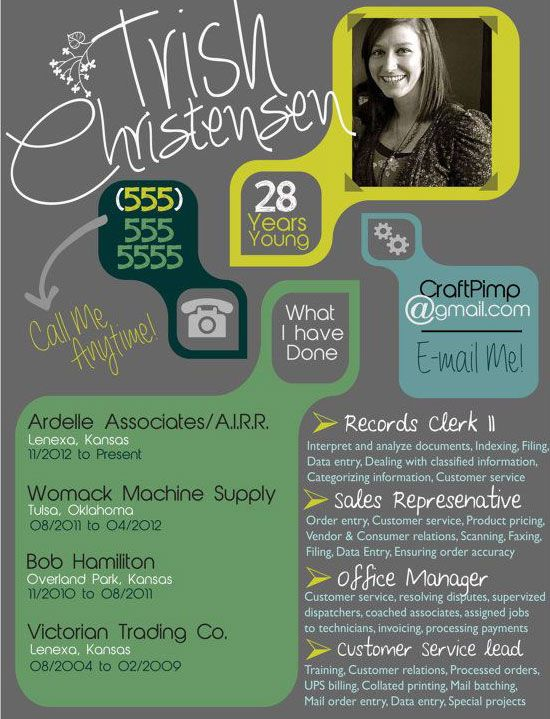 best online cv template