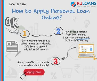 How to apply personal loan online? - Follow this simple steps! - Ruloans | Personal Loans ...