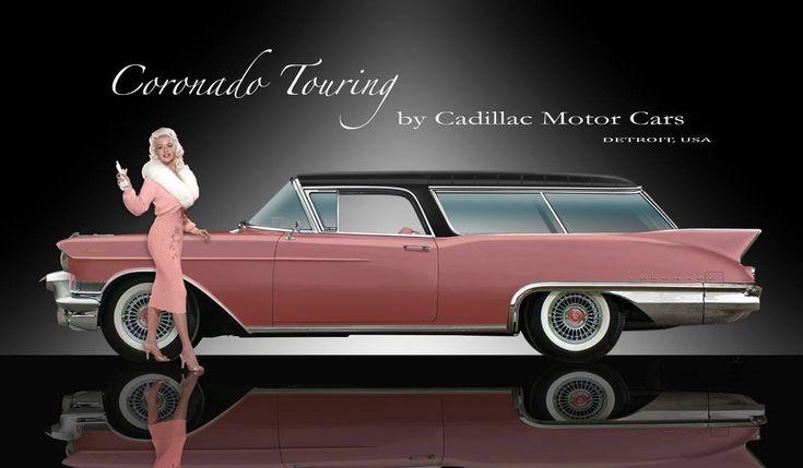 Wallpaper Amazing Convertible Cars 1957 Cadillac Coronado Touring Station Wagon Concept With