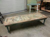Old wood door coffee table. | My Style | Pinterest | Door ...