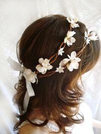 25+ best ideas about Flower hair wreaths on Pinterest ...
