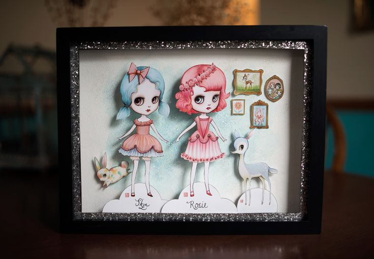 38 Best Images About Shadow Box On Pinterest Edward