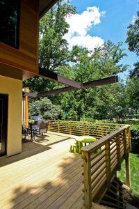 25+ best Wood Railing ideas on Pinterest | Banisters, Wood ...