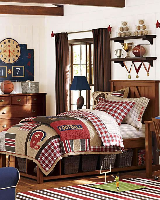 25 Best Ideas About Boy Sports Bedroom On Pinterest