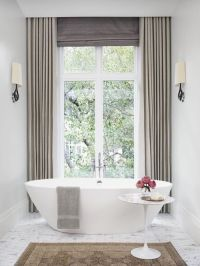 1000+ ideas about Bathroom Window Curtains on Pinterest ...