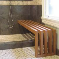 25+ best ideas about Shower Benches on Pinterest   Large ...