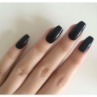 25+ best ideas about Black acrylic nails on Pinterest ...