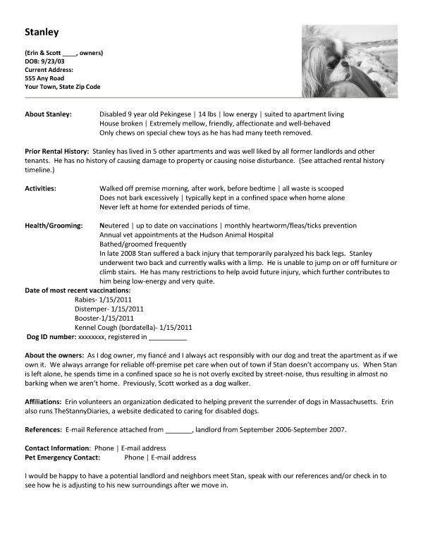 good pet sitter resume pet sitter resume 12 pet sitter resume