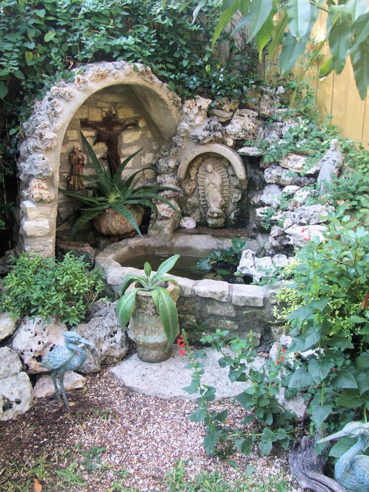 1000+ images about Mary Grotto on Pinterest