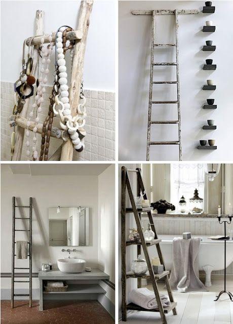 1000 Images About Diy Ladder Ideas On Pinterest Ladder