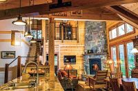 28 best images about Log Home Ideas-Fireplace on Pinterest ...