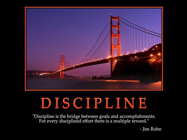 Keep Going Quotes Wallpaper Discipline Quot Discipline Is The Bridge Between Goals And