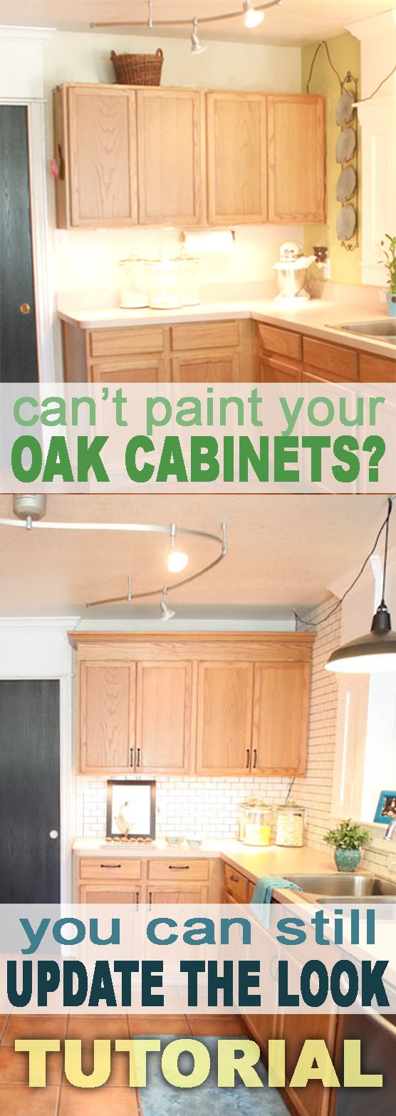 updating oak cabinets kitchen cabinet updates Update Builder Grade Cabinets Fast Without Painting