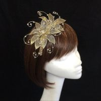 25+ best ideas about Gold Fascinator on Pinterest ...