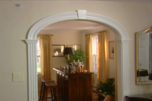 Arched Doorway Trim Kit Learn How To Create An Arched Doorway Using An Arch Kit