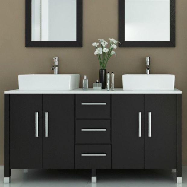 ideas modern bathroom vanities
