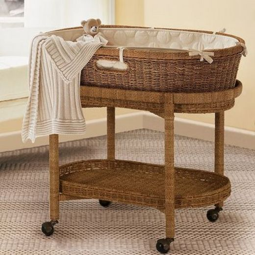 Baby Bassinet Pottery Barn Vintage To Modern Baby Bassinets And Moses Baskets