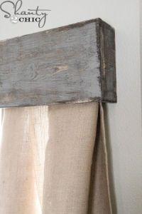 Best 25+ Wood window valances ideas on Pinterest