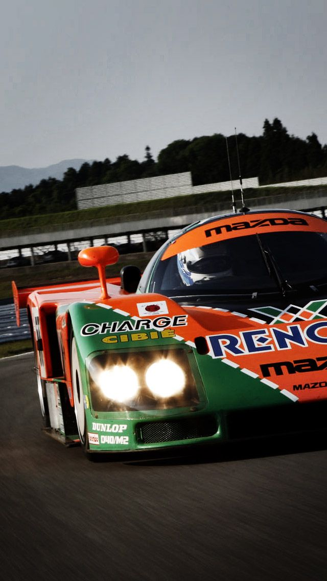 Car Phone Wallpaper Rx7 Mazda 787b Le Mans Race Car Iphone5 Wallpaper