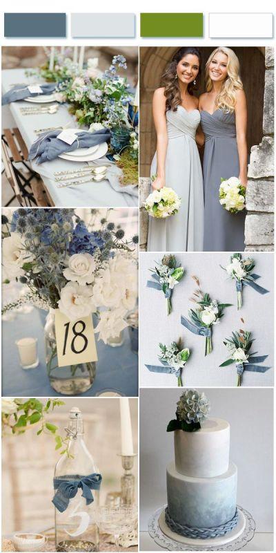25+ best ideas about Blue grey weddings on Pinterest ...
