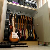 25+ best ideas about Guitar Storage on Pinterest