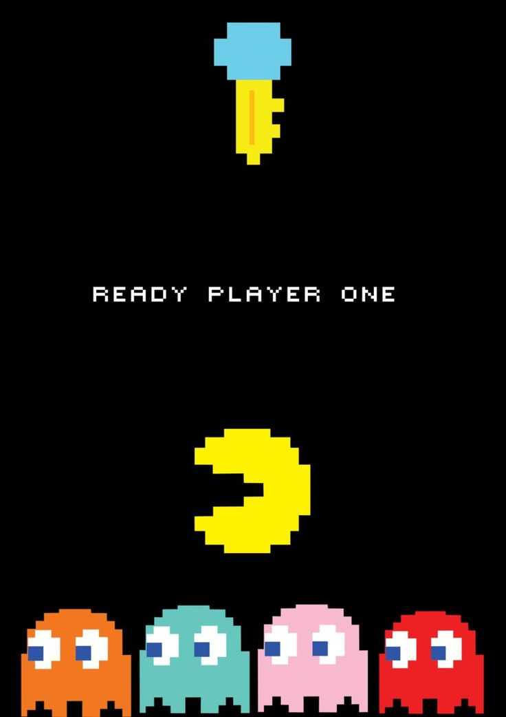 Pacman Wallpaper Iphone X 43 Best Images About Ready Player One Covers Amp Posters On