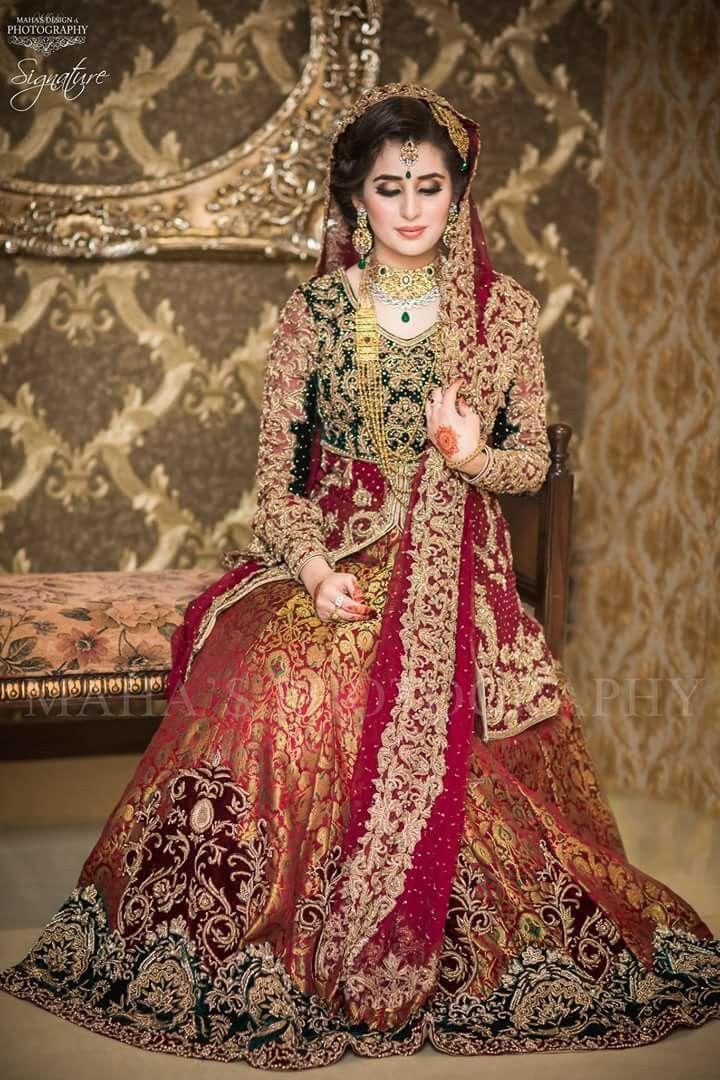 754 best images about Pakistani bridal dresses on