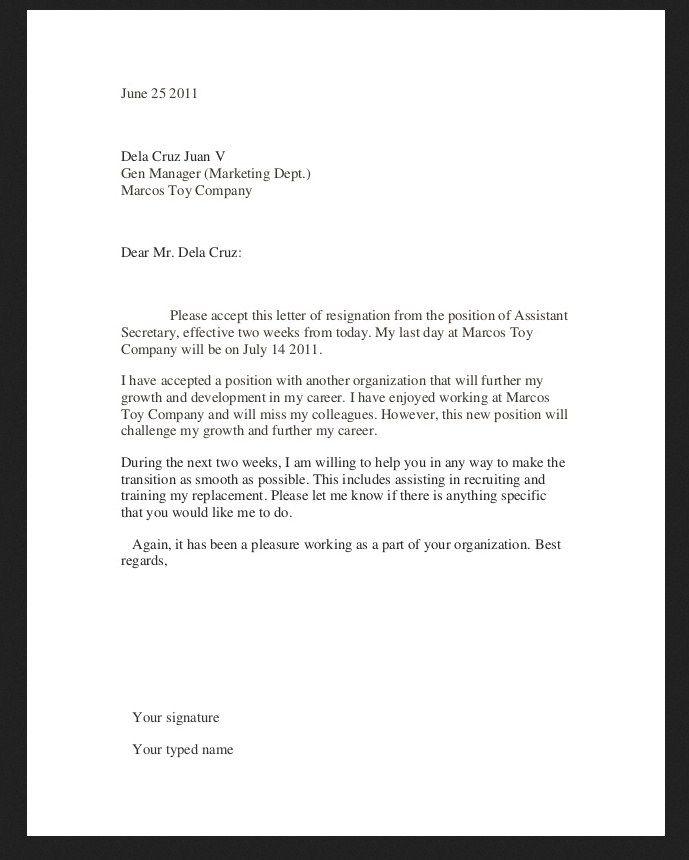 retirement letter of resignation sample resignation letter format - free letter of resignation template
