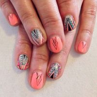 25+ best ideas about Tribal nail designs on Pinterest ...