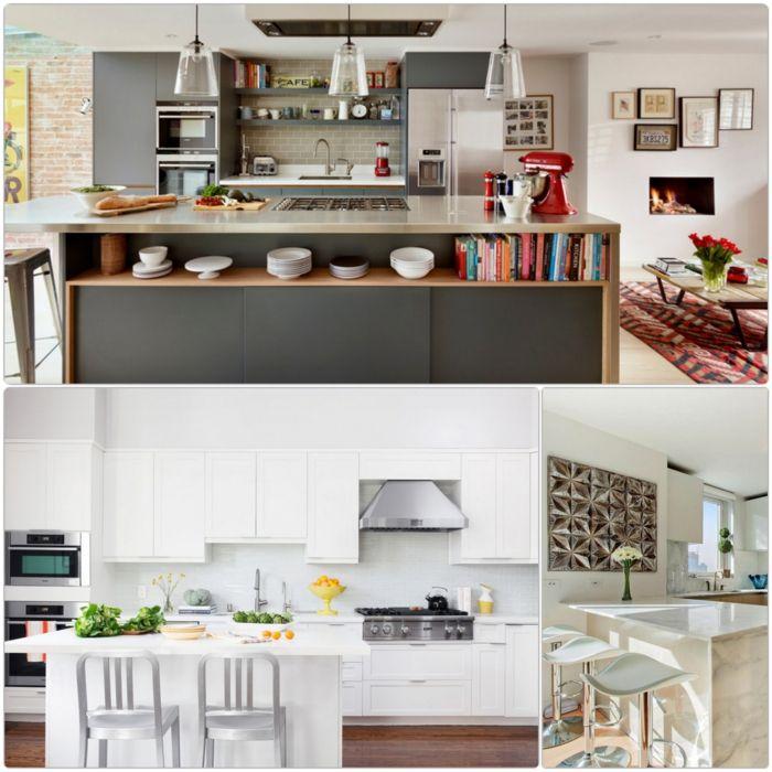 17 Beste Ideeën Over Kücheneinrichtung Mit Kochinsel Op Pinterest   Loft  Kuche Mit Kochinsel Jo Wynant